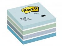 3M Post-it 2028-B Pasztell jegyzetkocka - pasztell kék színben - 1 tömb / csomag (3M 2028-B)