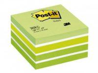 3M Post-it 2028-G Pasztell jegyzetkocka - pasztell zöld színben - 1 tömb / csomag (3M 2028-G)