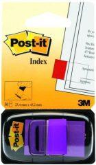 3M Post-it Index 680-8 standard jelölőcímke - lila - 50 címke / bliszter