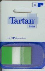 3M Tartan Index 6805-3EU standard jelölőcímke - zöld - 50 címke / bliszter