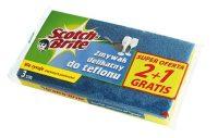 3M Scotch-Brite lapos mosogatószivacs nem karcoló dörzsfelülettel - kiszerelés: 3 darab / csomag (3M CEE17)