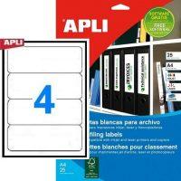 APLI 01233 öntapadós etikett címke