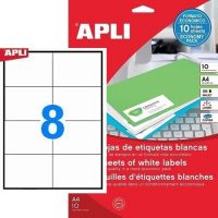 APLI 12921 öntapadós etikett címke
