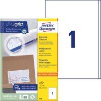 Avery Zweckform 3418 öntapadó etikett címke