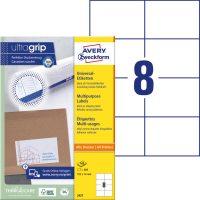 Avery Zweckform 3427 öntapadó etikett címke