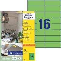 Avery Zweckform 3454 öntapadós etikett címke