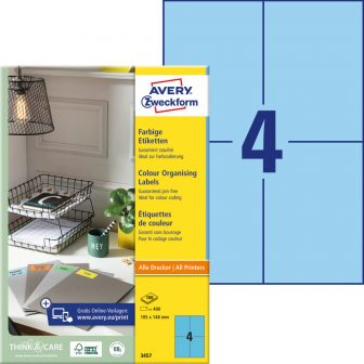 Avery Zweckform 3457 öntapadós etikett címke