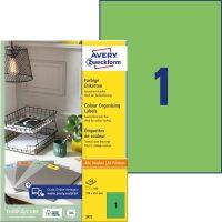 Avery Zweckform 3472 öntapadós etikett címke