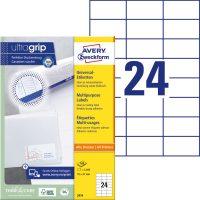 Avery Zweckform 3474 öntapadó etikett címke