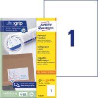 Avery Zweckform 3478-200 öntapadós etikett címke