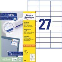 Avery Zweckform 3479 öntapadó etikett címke