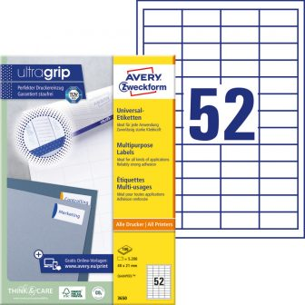 Avery Zweckform 3650 öntapadó etikett címke