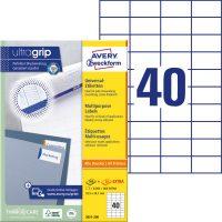 Avery Zweckform 3651-200 öntapadós etikett címke