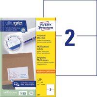 Avery Zweckform 3655 öntapadó etikett címke