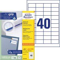 Avery Zweckform 3657 öntapadó etikett címke