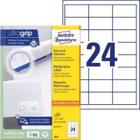 Avery Zweckform 3658 öntapadó etikett címke