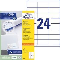 Avery Zweckform 3664 öntapadó etikett címke