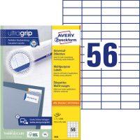 Avery Zweckform 3668 öntapadó etikett címke