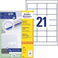 Avery Zweckform 3670 öntapadó etikett címke