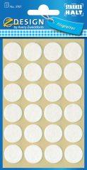 Avery Zweckform Z-Design No. 3707 öntapadó filcalátét kényes felületek védelmére - 18 mm átmérőjű, 1 mm magasságú - kiszerelés: 24 darab / csomag (Avery Z-Design 3707)
