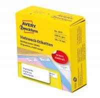 Avery Zweckform 3831 öntapadós etikett címke