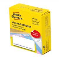 Avery Zweckform 3833 öntapadós etikett címke