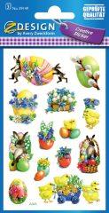 Avery Zweckform Z-Design No. 39149 húsvéti papír matrica - különféle húsvéti képekkel - kiszerelés: 3 ív / csomag (Avery Z-Design 39149)