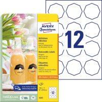 Avery Zweckform 5083 öntapadós etikett címke
