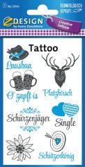 Avery Zweckform Z-Design No. 55143 öntapadó tetoválás matrica Oktoberfest, Bajorország motívumokkal.