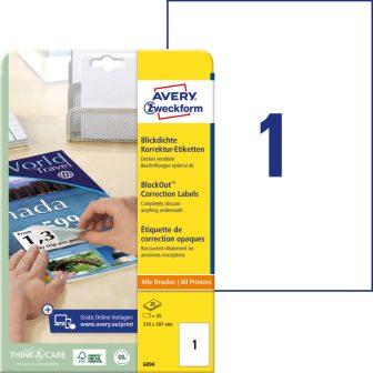 Avery Zweckform 6094 öntapadó etikett címke