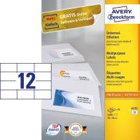 Avery Zweckform 6131 öntapadós etikett címke