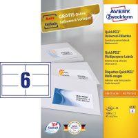 Avery Zweckform 6132 öntapadós etikett címke