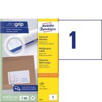 Avery Zweckform 6135 öntapadós etikett címke