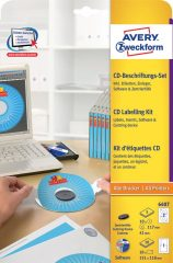 Avery Zweckform 6407 CD DVD címkéző készlet