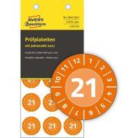 Avery Zweckform 6945-2021 hitelesítő címke 2021-es évszámmal