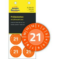 Avery Zweckform 6946-2021 hitelesítő címke 2021-es évszámmal