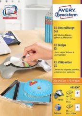 Avery Zweckform AB1800 CD DVD címkéző készlet