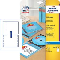 Avery Zweckform C32251-25 mikroperforált CD tok betét