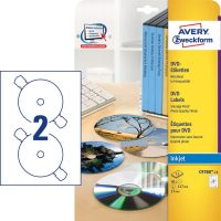 Avery Zweckform C9780-15 öntapadó DVD címke