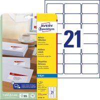 Avery Zweckform J8160-10 öntapadó etikett címke