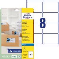 Avery Zweckform J8165-25 öntapadó etikett címke