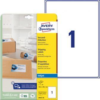 Avery Zweckform J8167-25 öntapadó etikett címke