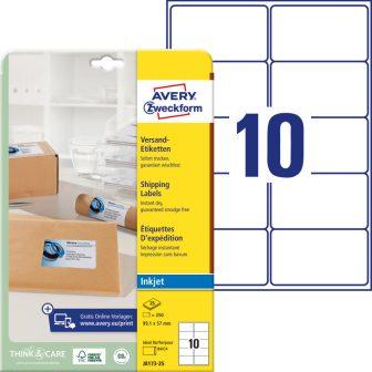 Avery Zweckform J8173-25 öntapadó etikett címke