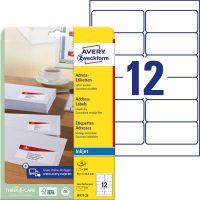 Avery Zweckform J8177-25 öntapadó etikett címke