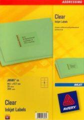 Avery Zweckform J8565-25 öntapadó etikett címke