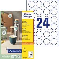 Avery Zweckform L3415-100 öntapadó etikett címke