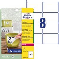 Avery Zweckform L4715REV-20 öntapadós etikett címke