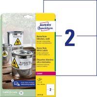 Avery Zweckform L4717-20 öntapadós etikett címke