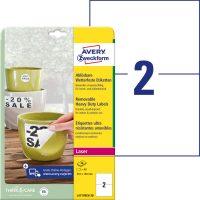 Avery Zweckform L4717REV-20 öntapadós etikett címke
