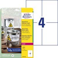 Avery Zweckform L4719-20 öntapadós etikett címke